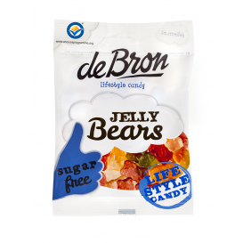 De Bron Sugar Free Jelly Bears 90 g