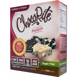 ChocoRite Protein Bars Cookies n Cream - 5 bars
