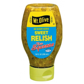 Mt. Olive No Sugar Added Sweet Relish 295 ml