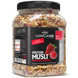 Low Carb Protein Muesli Strawberry & Raspberry 565 g