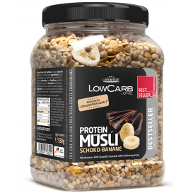 Low Carb Protein Muesli Chocolate & Banana 550 g