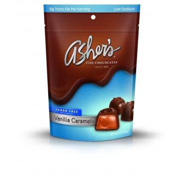 Asher's Sugar Free Milk Chocolate Vanilla Caramels