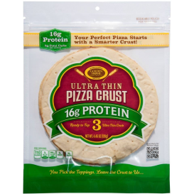 Golden Home Ultra Thin Protein Pizza Crust