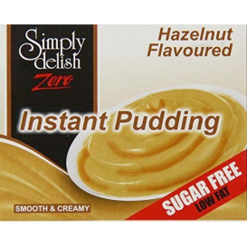 Simply Delish Sugar Free Hazelnut Pudding