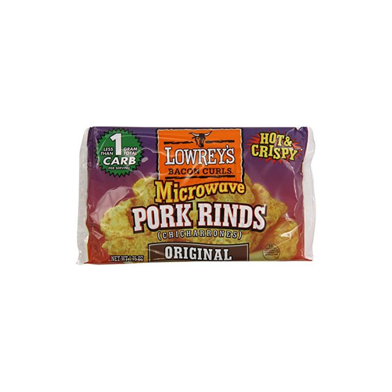 Lowrey S Bacon Curls Microwave Original Pork Rinds