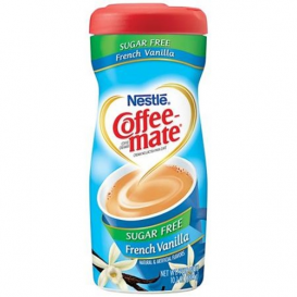 Nestle Sugar Free Coffee Mate Powder - French Vanilla