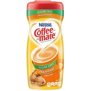 Nestle Sugar Free Coffee Mate Powder - Hazelnut