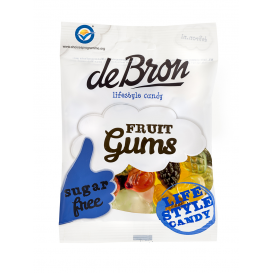 De Bron Sugar Free Jelly Fruit Gums 100 g