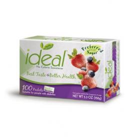 Heartland Ideal Sweetener 100 Single Packet