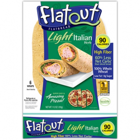 Flatout Light Wraps Italian Herb