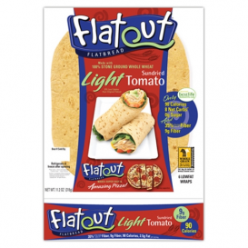 Flatout Light Wraps Sundried Tomato