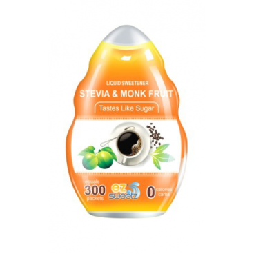 EZ-Sweetz Liquid Sweetener Stevia & Monk Fruit