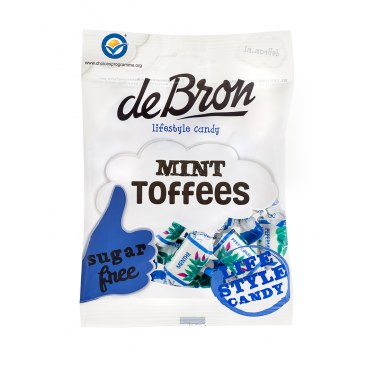 De Bron Sugar Free Mint Toffees