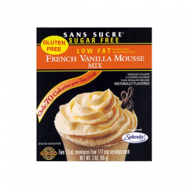 Sans Sucre Mousse Mix - French Vanilla