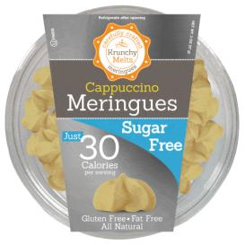 Krunchy Melts Sugar Free Meringues - Cappuccino