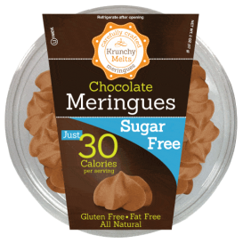 Krunchy Melts Sugar Free Meringues - Chocolate