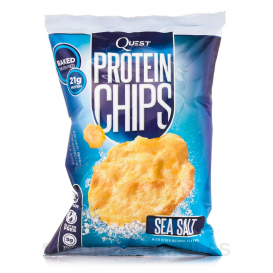 Quest Nutrition Protein Chips Sea Salt