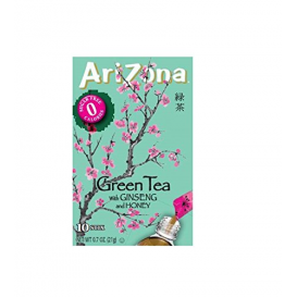Arizona Sugar Free Iced Green Tea with Ginseng
