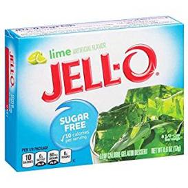 Jell-O Sugar Free Lime Jelly