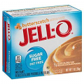 Jell-O Sugar Free Butterscotch Pudding