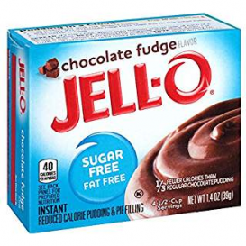 Jell-O Sugar Free Chocolate Fudge Pudding