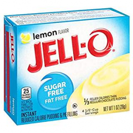 Jell-O Sugar Free Lemon Pudding