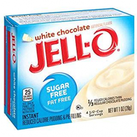 Jell-O Sugar Free White Chocolate Pudding