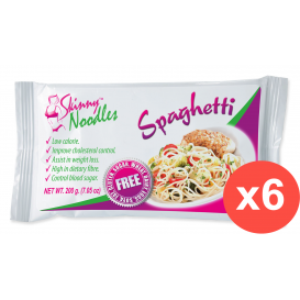 Case of 6 Skinny Noodles Spaghetti