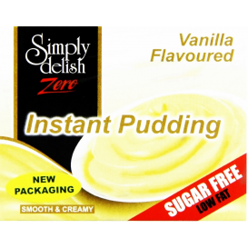 Simply Delish Sugar Free Vanilla Pudding