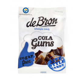 De Bron Sugar Free Jelly Cola Gums 100 g