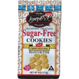 Joseph's Sugar Free Cookies Peanut Butter
