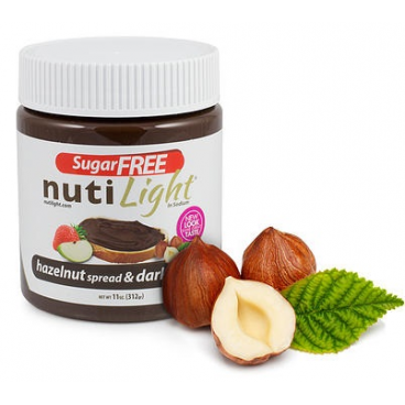 NutiLight Sugar Free Hazelnut Spread & Dark Chocolate