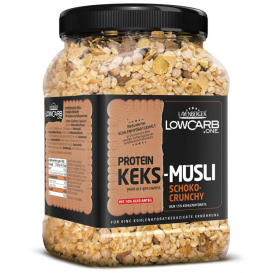 Low Carb Protein Biscuit Muesli Choco Crunchy