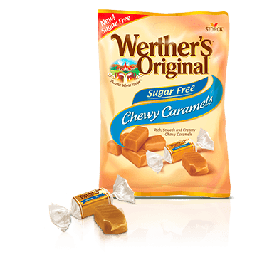 Werther's Original Sugar Free Chewy Caramels 78 g