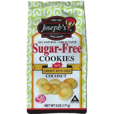 Joseph's Sugar Free Cookies Coconut