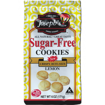 Joseph's Sugar Free Cookies Lemon