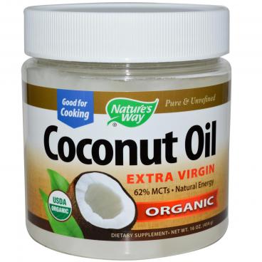 Nature's Way Organic Coconut Oil