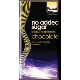 Plamil No Added Sugar & Dairy Free Chocolate with Shelled Hemp