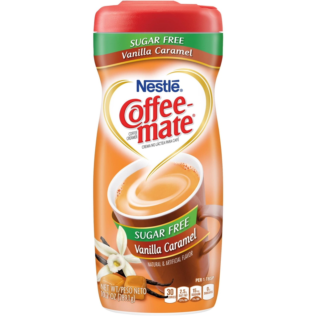 Nestle Sugar Free Coffee Mate Powder Vanilla Caramel