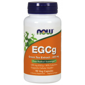 NOW EGCg Green Tea Extract 90 Veg Capsules