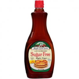 Maple Grove Farm Sugar Free Maple Flavor Syrup 355 ml