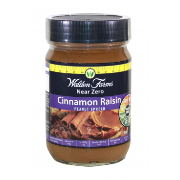Walden Farms Cinnamon Raisin Peanut Spread