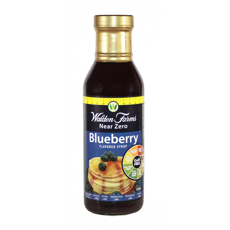 Walden Farms Calorie Free Blueberry Syrup