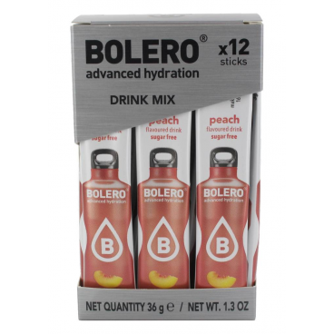 Bolero Sticks Sugar Free Drink - Peach