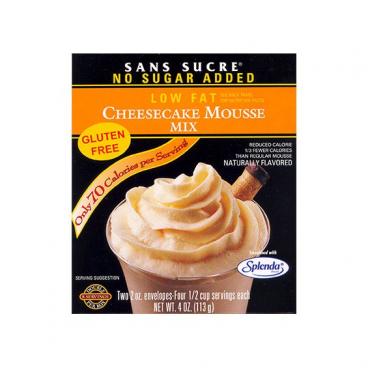Sans Sucre Mousse Mix - Cheesecake