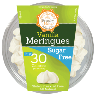 Krunchy Melts Sugar Free Meringues - Vanilla