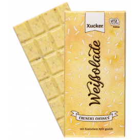 Xucker White Chocolate with Crunchy Coconut