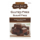Sans Sucre Gluten Free and Sugar Free Brownie Mix, Chocolate Fudge