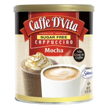 Caffe D'Vita Sugar Free Premium Instant Cappuccino - Mocha