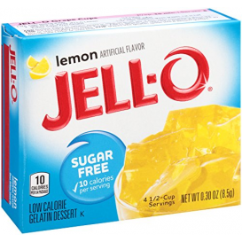 Jell-O Sugar Free Lemon Jelly